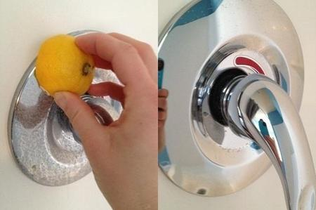 come pulire i rubinetti