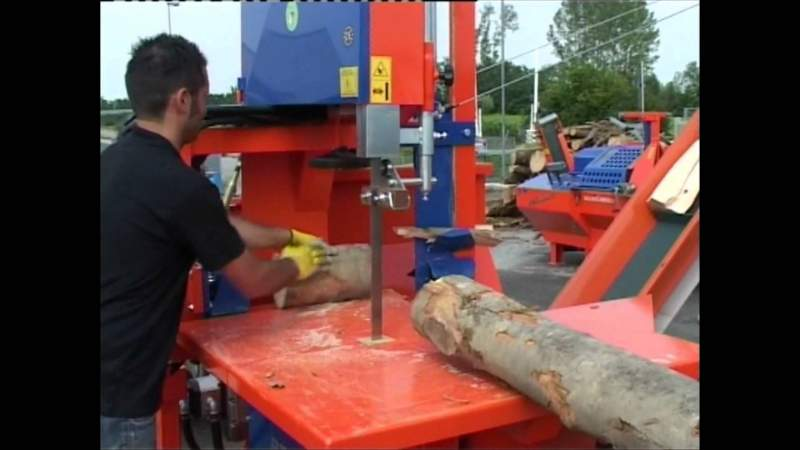 taglio legno con bindella