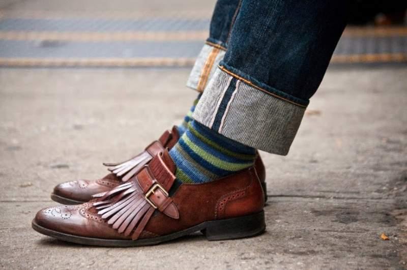 calze fantasia uomo